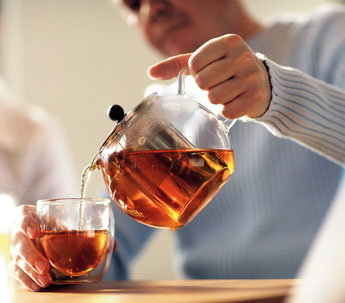 Make great tasting tea with the bodum tea maker