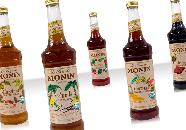 Monin Organic Syrups are now available at Espresso Planet