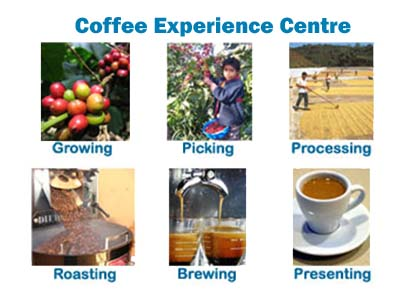 Visit our Coffee Experience Presentation Center