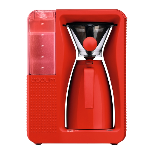 Coffee Maker Carafe That Doesnot Drip : Bodum Bistro B.Over Coffee Machine RED