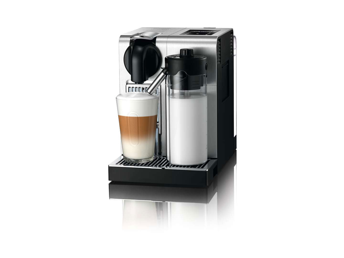 delonghi lattissima pro nespresso single serve espresso. Black Bedroom Furniture Sets. Home Design Ideas