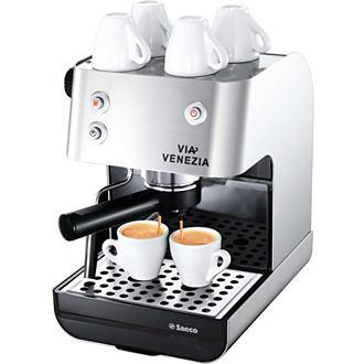 SAECO Via Venezia Traditional Espresso  Machine - Stainless Steel