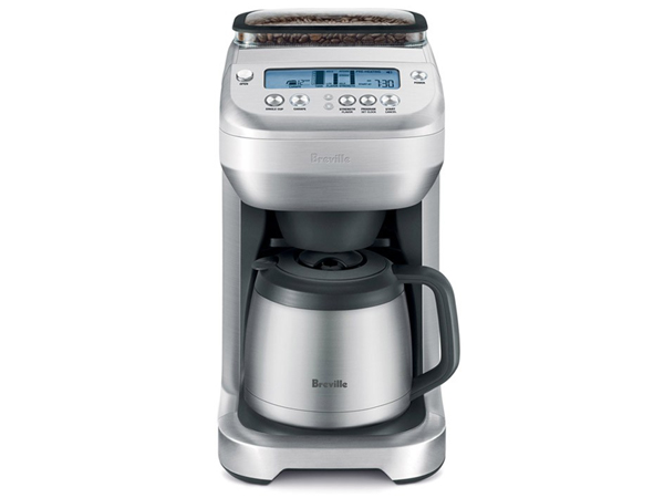 Drip Coffee Maker Grinder : Breville the You Brew Thermal Drip Coffee Maker with Grinder BREBDC600XL