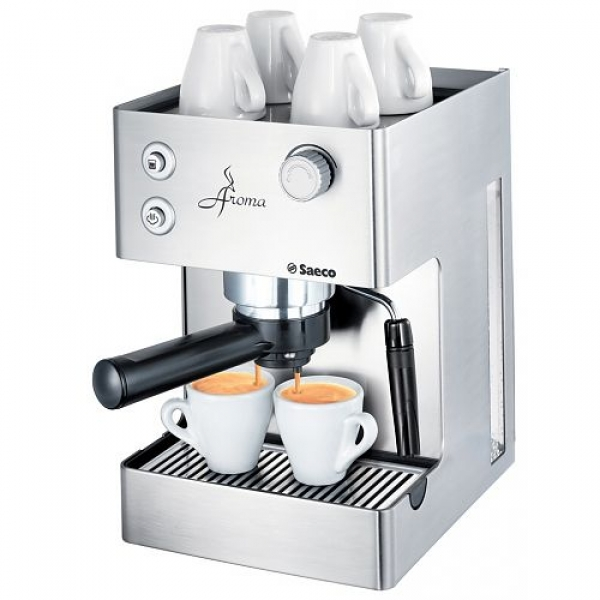 saeco aroma inox traditional espresso machine stainless. Black Bedroom Furniture Sets. Home Design Ideas