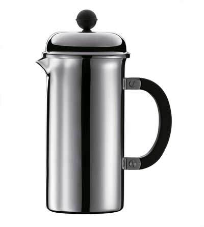 Bodum CHAMBORD HOTEL Stainless Steel 8-cup coffee press - Espresso Planet