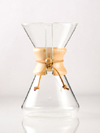Chemex Handblown Series 6 Cup Glass Coffee Maker