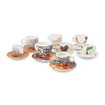 illy Sustain Art Collection Espresso Cups - Set Of 4