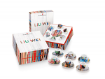 illy Art Collection Espresso Cups by Liu Wei - Set Of 6