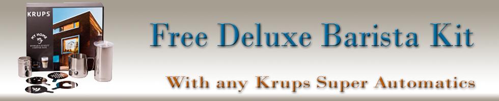 Free Krups Barista Kit