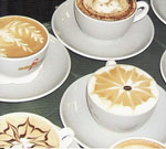 Latte Art Presentation in Toronto