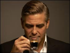 George Clooney advertising Nespresso