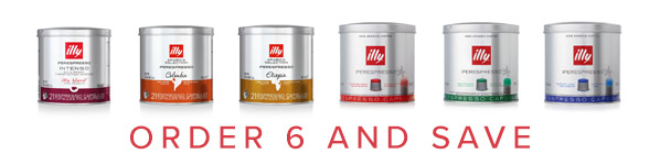Illy IperEspresso Capsule Mix and Match Case Discount