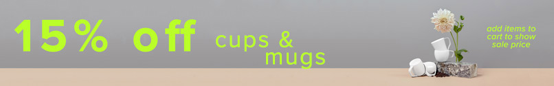 The Cups and Mugs Sale!