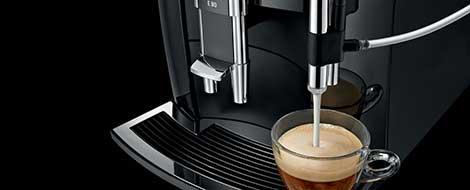 Jura Impressa E8 Super Automatic Espresso Machine Chrome